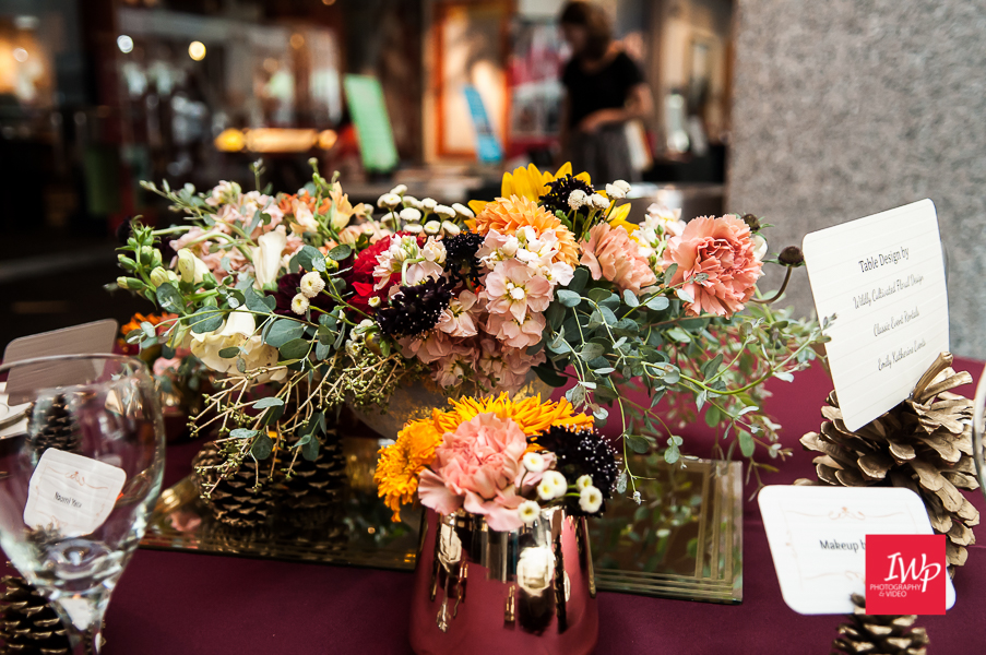Fall wedding centerpiece by Wildly Cultivated Floral Designs