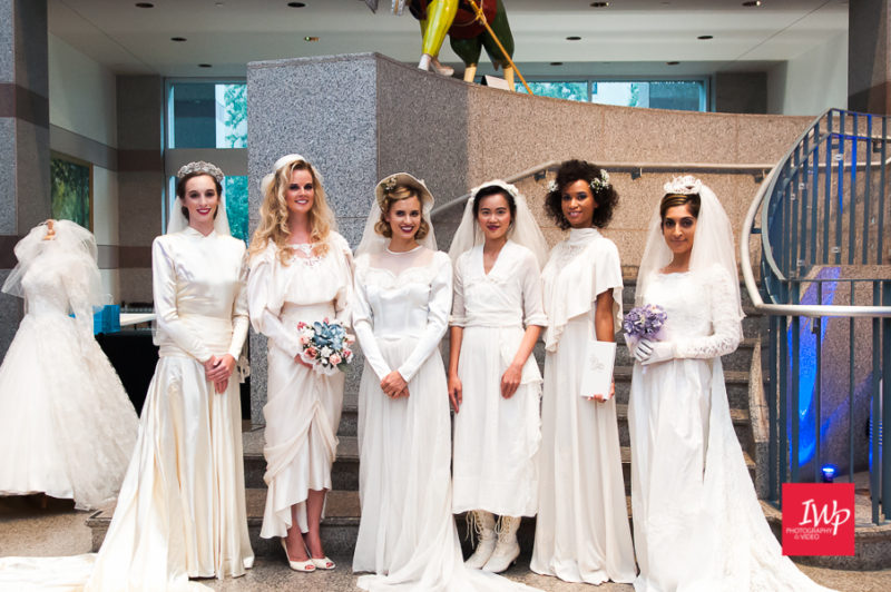 Bride at the Museum Raleigh Wedding Bridal Show