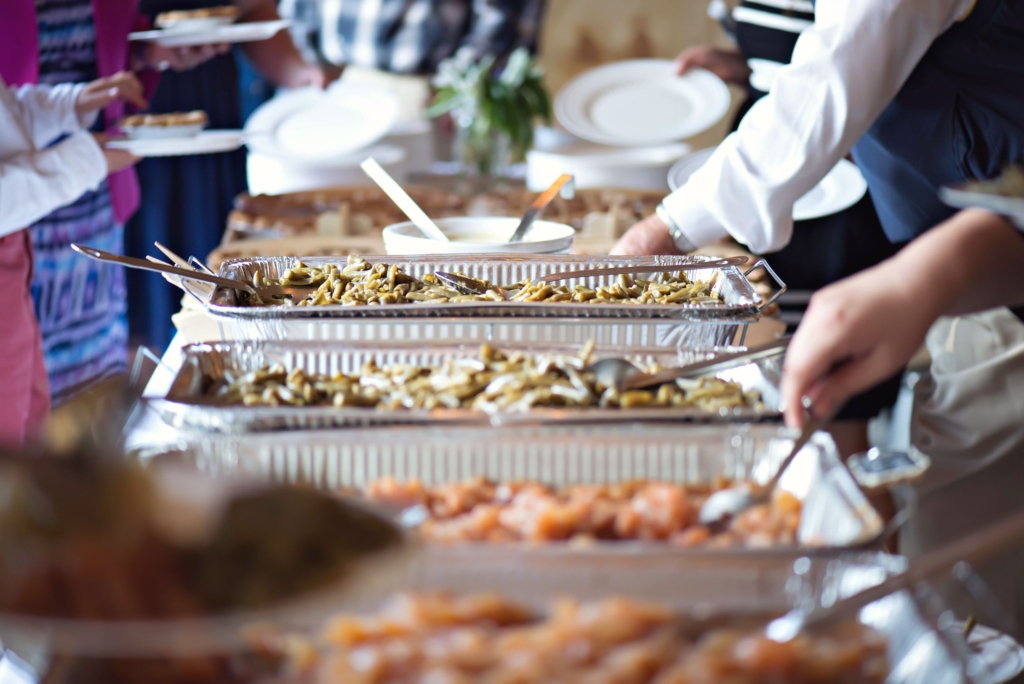 moravian wedding buffet