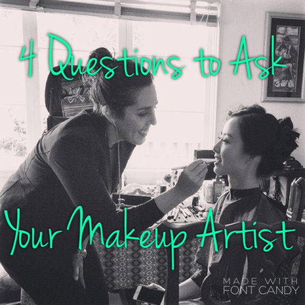 Questions for your Wedding Makeup Artist