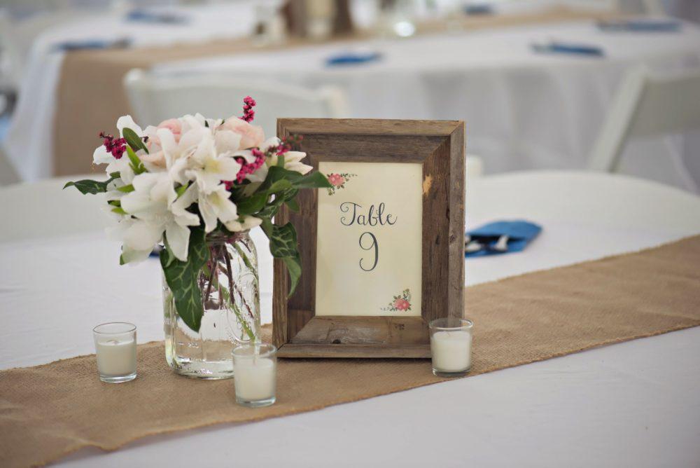 Wedding Centerpiece Winston Salem Wedding