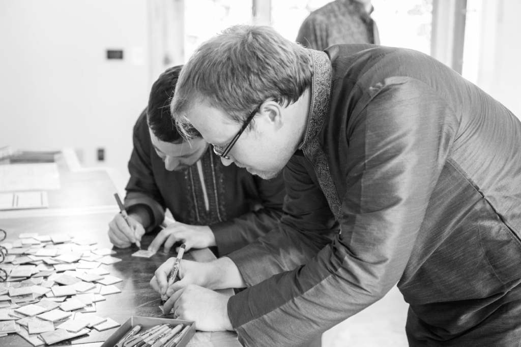 guest book signing