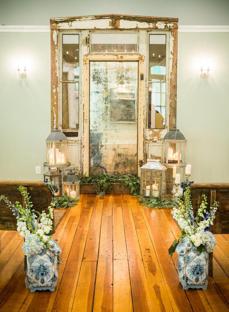 Blue Amp White Wedding Chapel Hill Styled Wedding Shoot