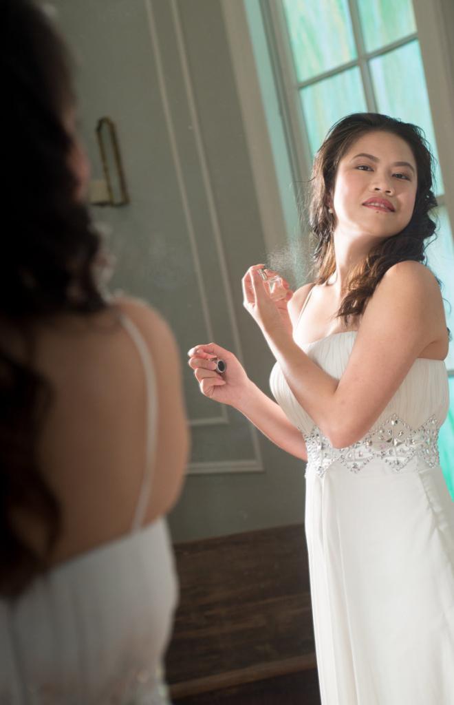 Bridal Perfume Chapel Hill Wedding