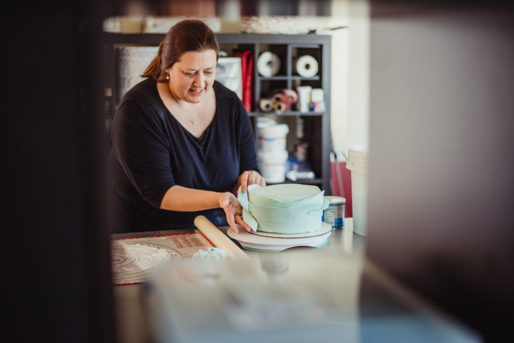 Love Cake painting