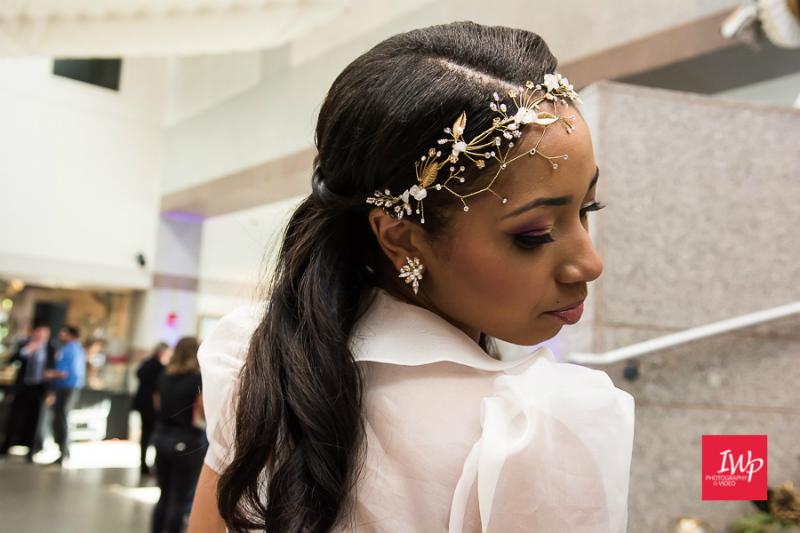 Bridal Fashion Show Closeup