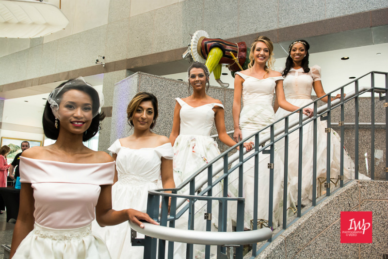 Bride at the Museum Wedding Showcase