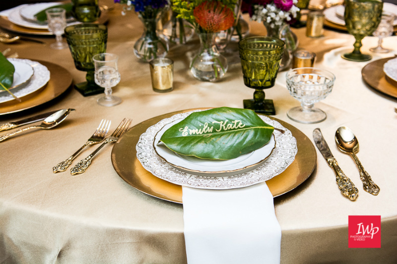 Southern Wedding place setting- Emily Katherine Events