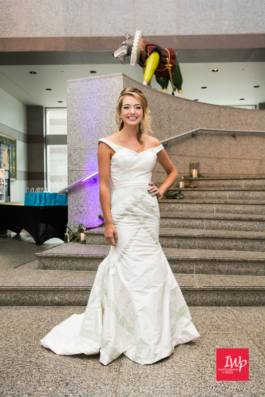 Southern Wedding Gowns- Bride at the Museum