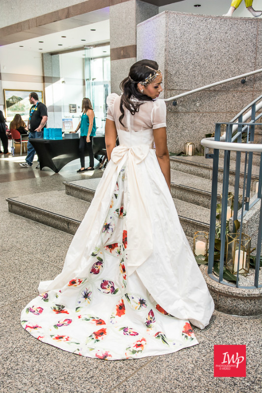 Local Wedding Gown- Bride at the Museum