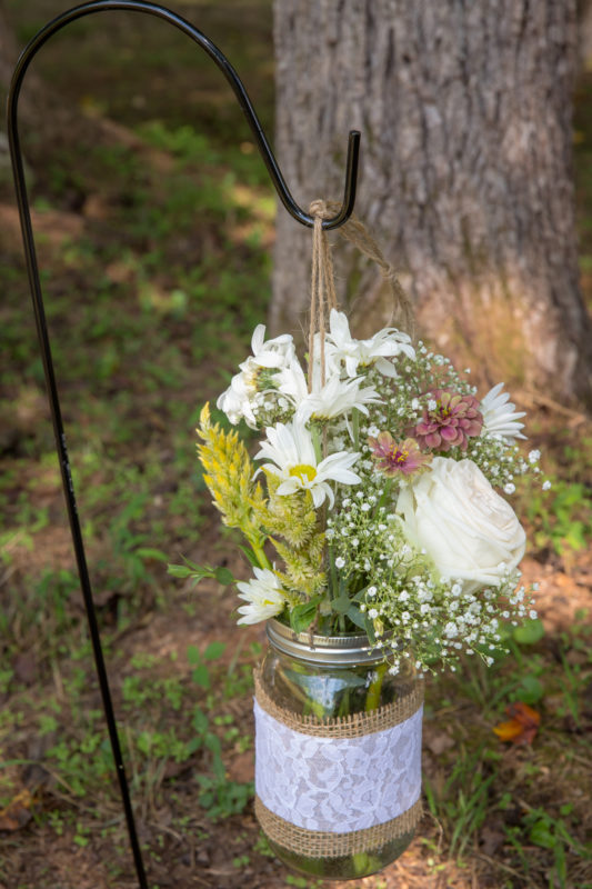 Chapel Hill Wedding Ceremony Decor