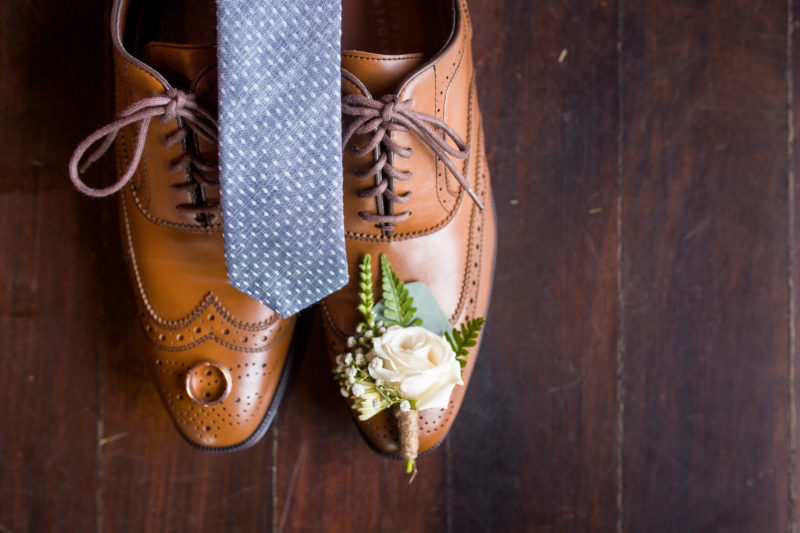 Emily Katherine Events Chapel Hill Wedding- Groom's Shoes