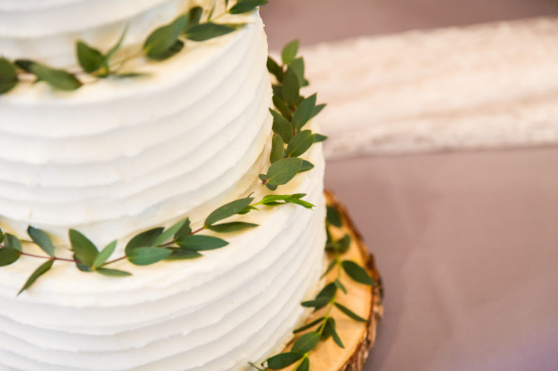 Rustic Wedding Cake in Chapel Hill NC
