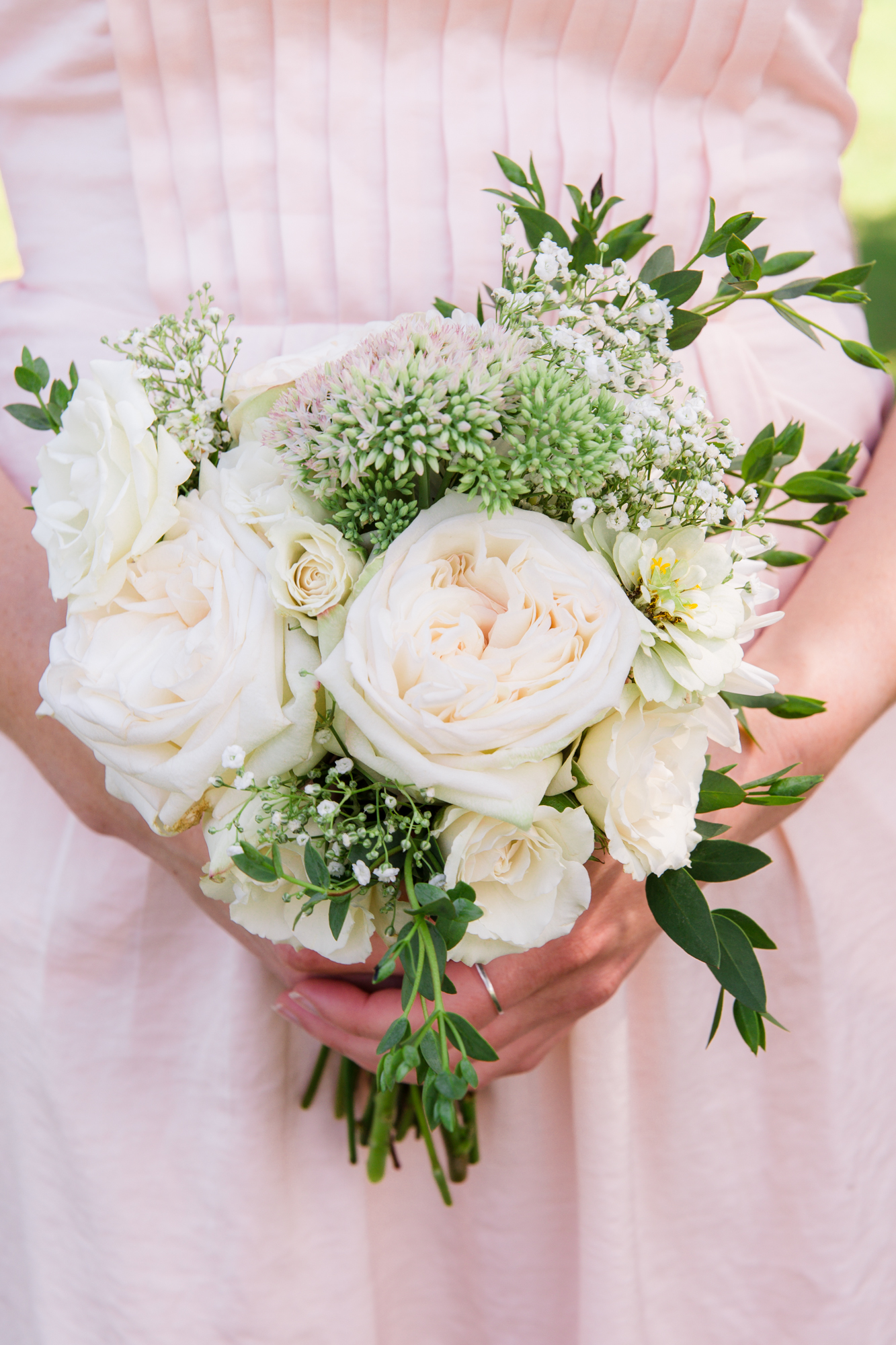 Summer Wedding Bouquet- Chapel Hill NC