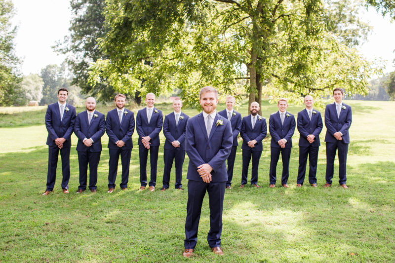 Chapel Hill Wedding Party- Groomsmen