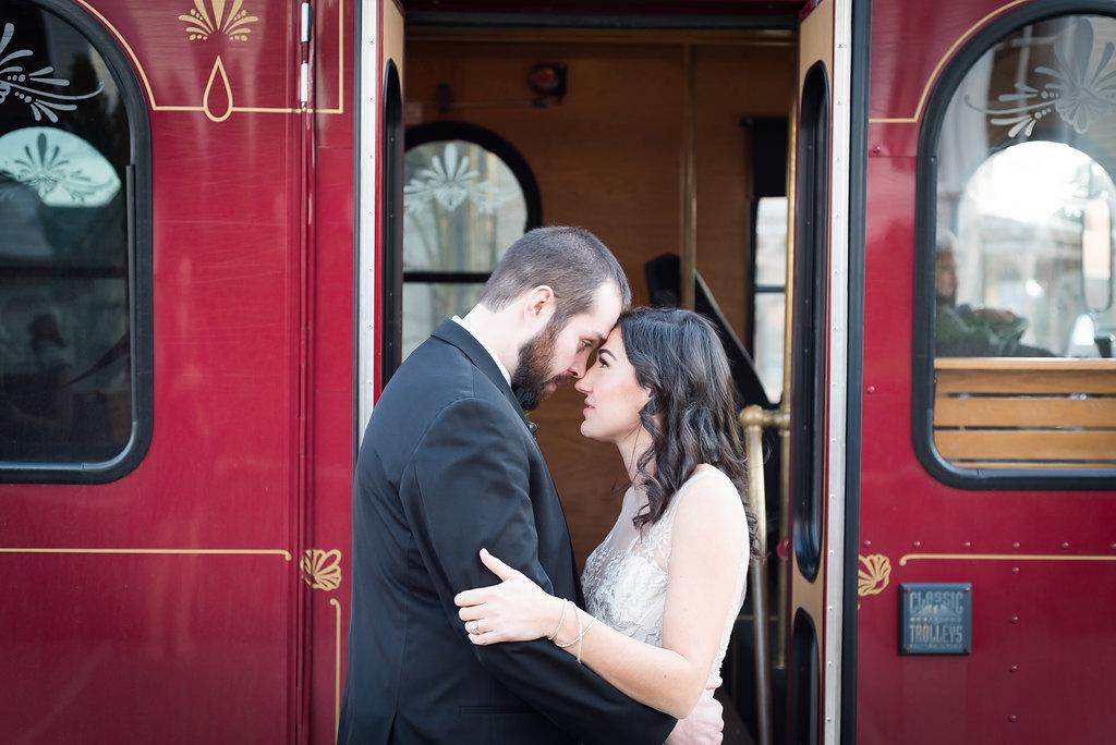 Wedding Trolley Raleigh