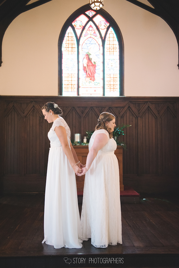 All Saints Chapel Wedding