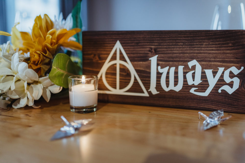 Harry Potter Wedding Sign