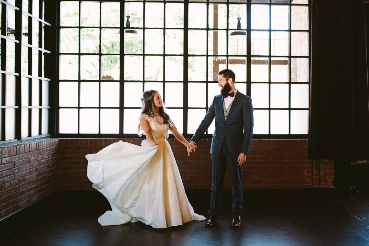 Second hand wedding dress from Still White. Photo by Angela Zion.